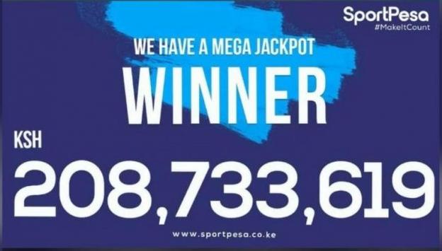 Betting 208 million winner sportpesa October 2018