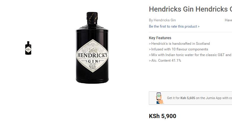 Gin for Kenyan Man